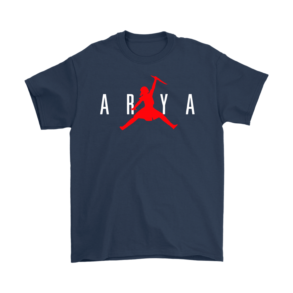Arya Stark Nike Air Jordan Game Of Thrones Shirts 3