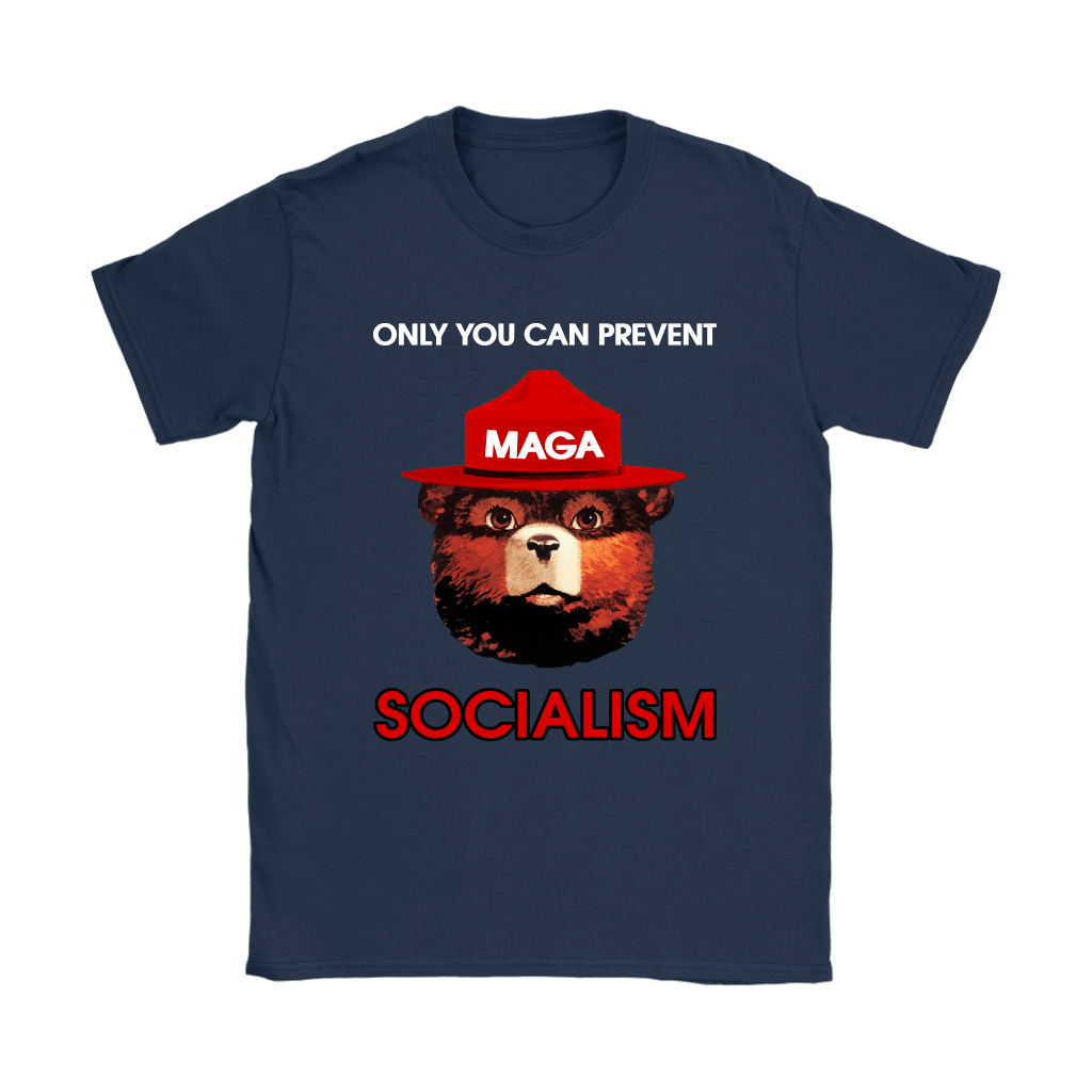 Smokey The Bear MAGA Only You Can Prevent Socialism Shirts 10