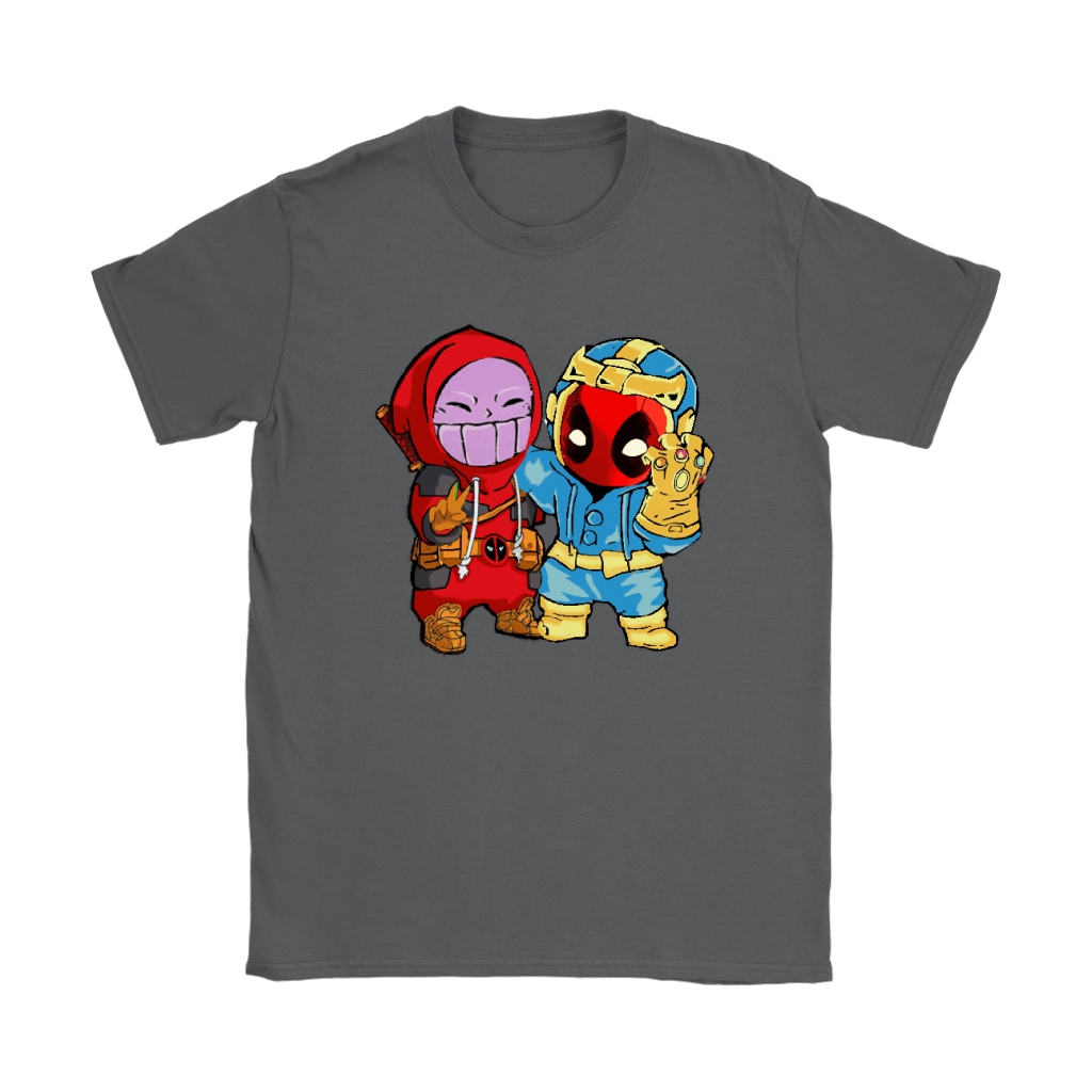 Baby Thanos And Deadpool Costume Switch Cute Shirts 8