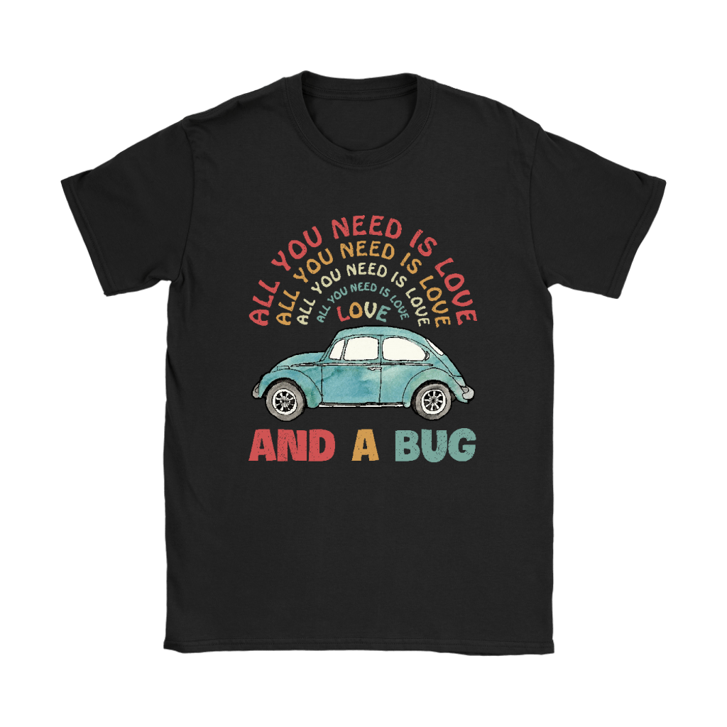 All You Need Is Love And A Bug The Beatles Car Shirts 7