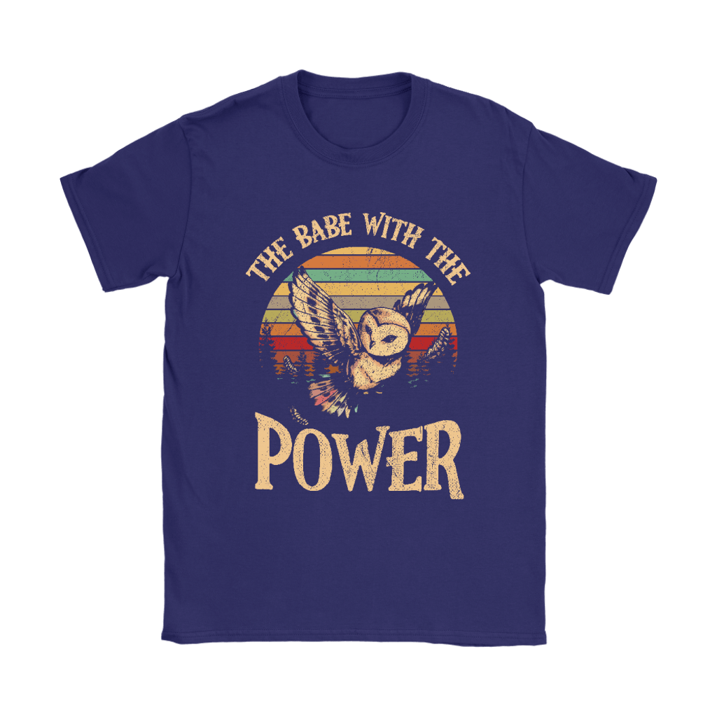 The Babe With The Power David Bowie Owl Vintage Shirts 9