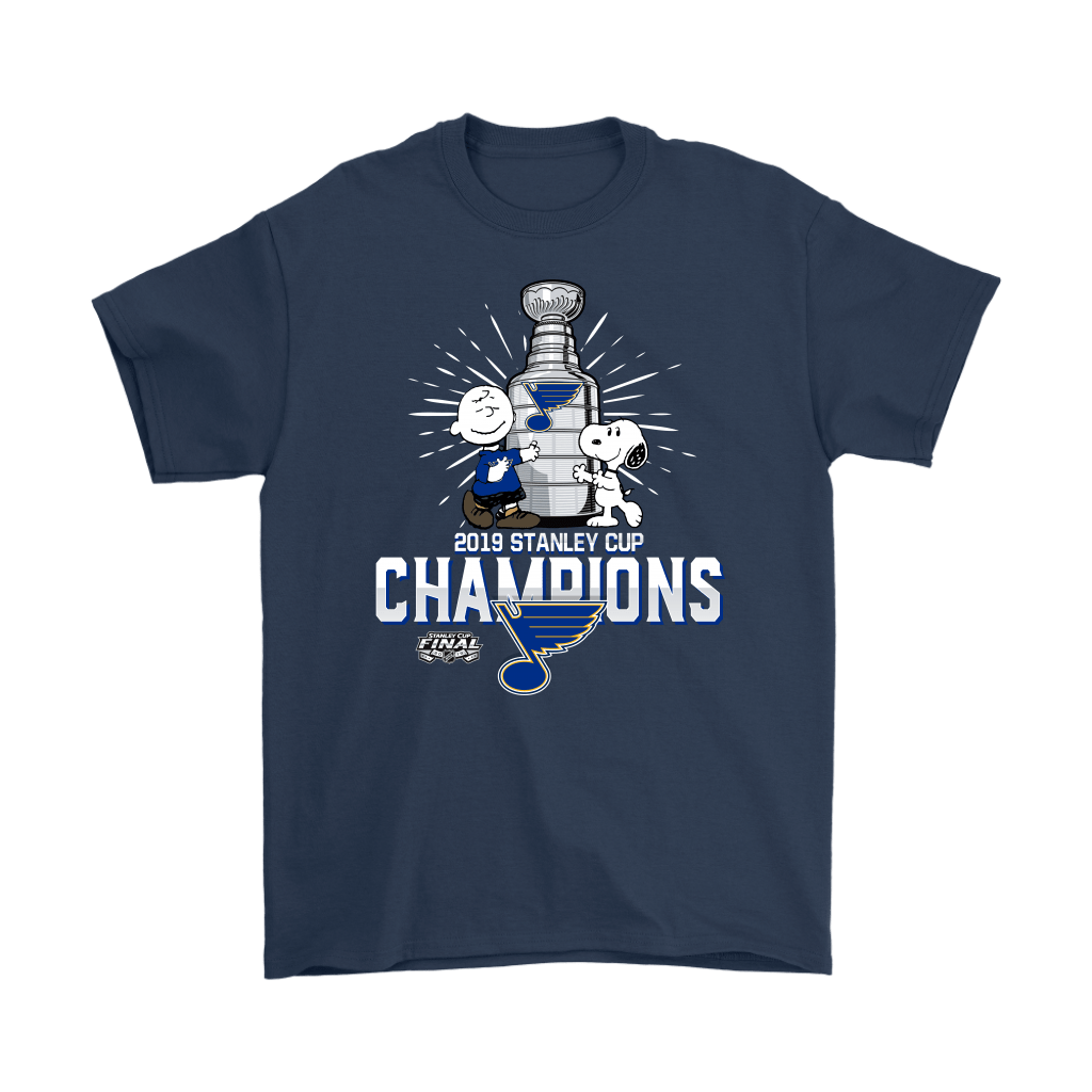 2019 Stanley Cup Champion St. Louis Blues Snoopy Shirts 3
