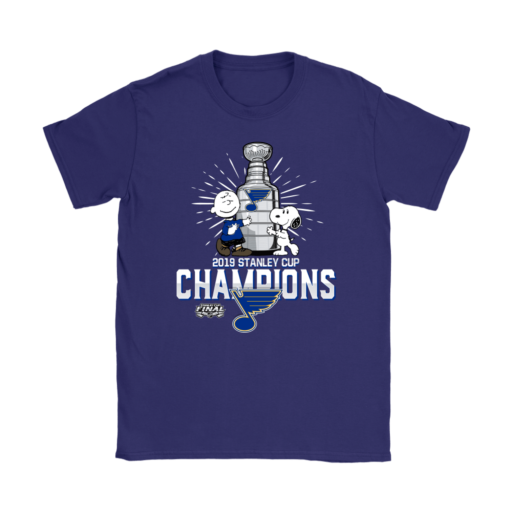 2019 Stanley Cup Champion St. Louis Blues Snoopy Shirts 12