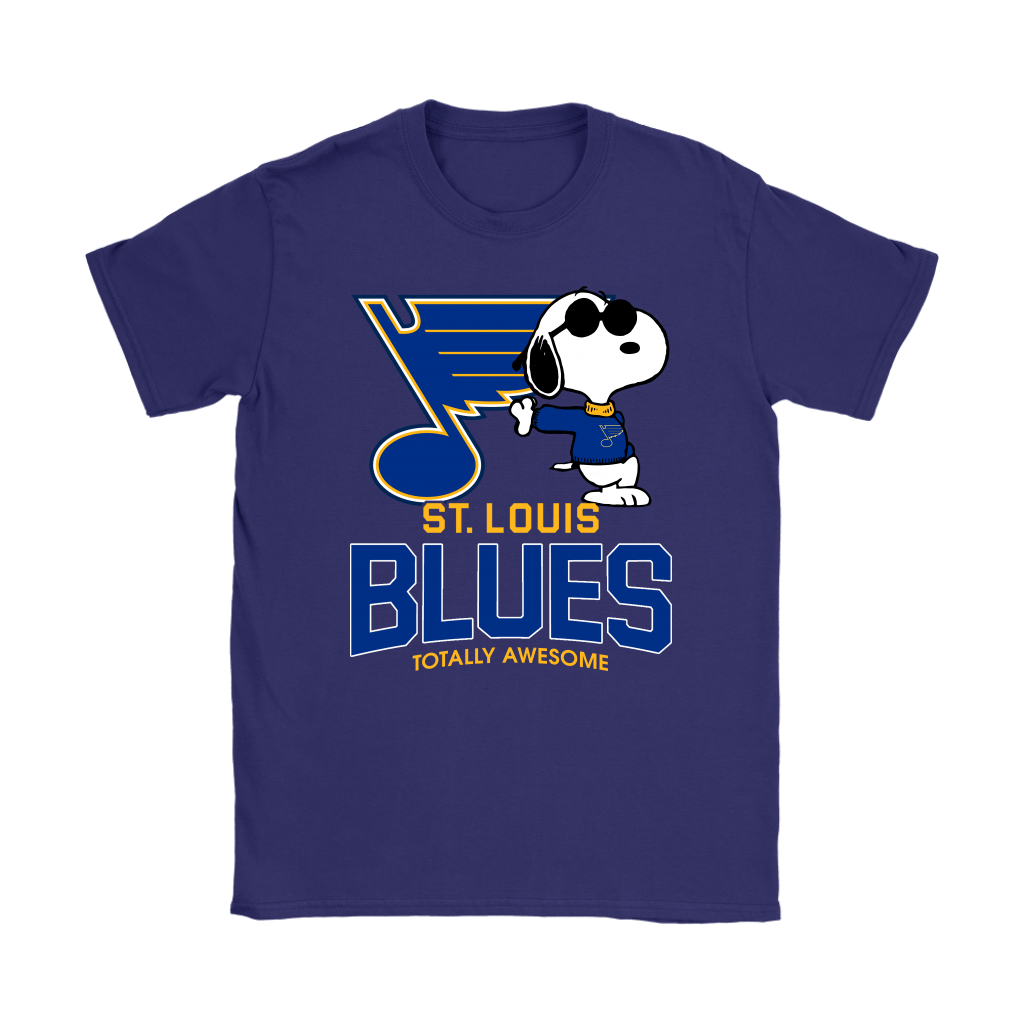 Joe Cool Snoopy St. Louis Blues Totally Awesome Shirts 12