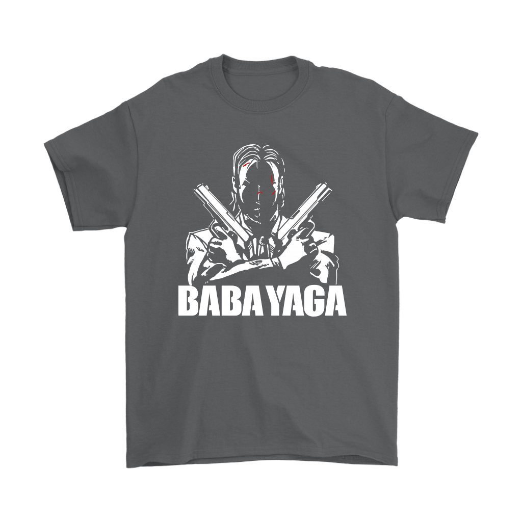 Shadow John Wick Dual Handguns The Babayaga Shirts 2