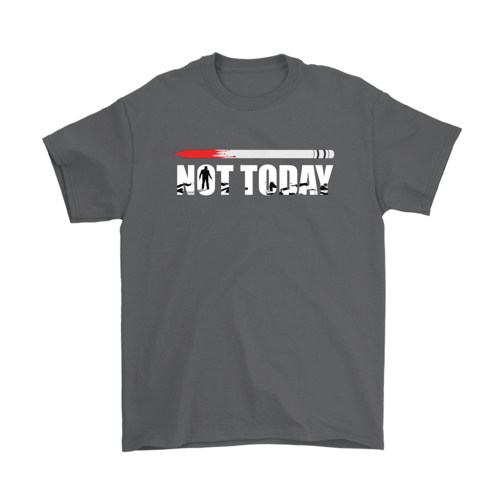 John Wick Pencil Game Of Throne Not Today Mashup Shirts 2