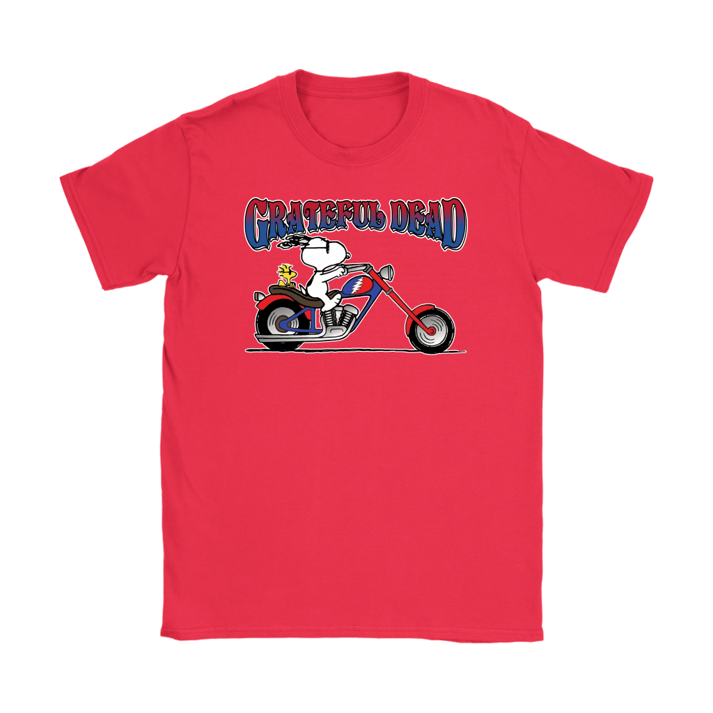 Snoopy Grateful Dead At Least I'm Enjoying The Ride Shirts 11