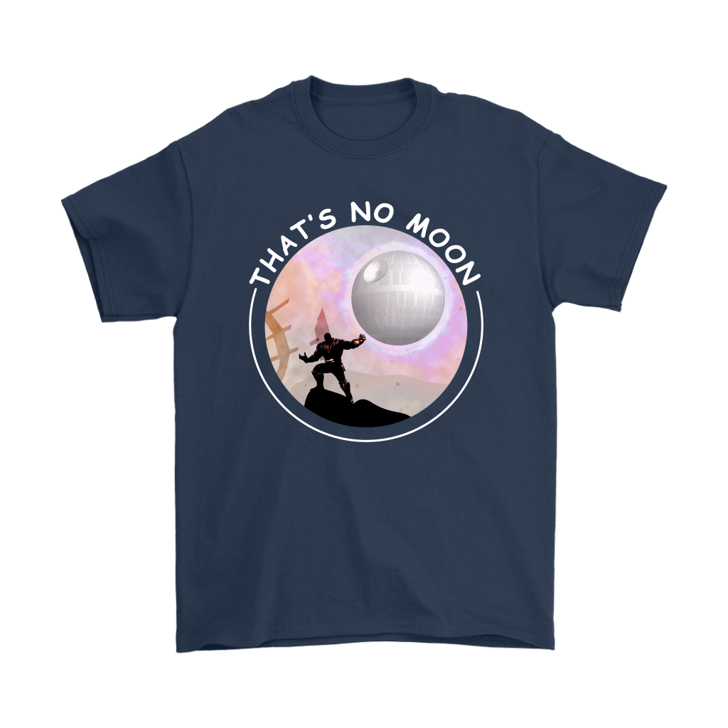 That's No Moon Thanos Hitting You With The Death Star Shirts 3