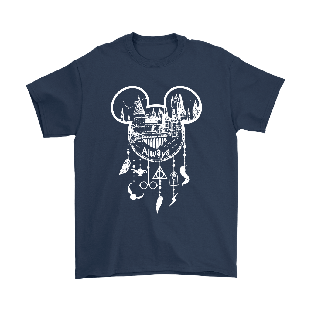 Hogwarts Mickey Head Harry Porter Disney Dream Catcher Shirts 3