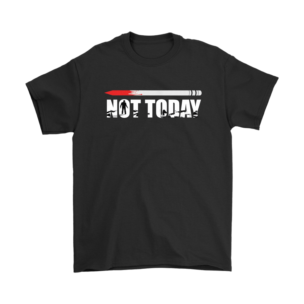 John Wick Pencil Game Of Throne Not Today Mashup Shirts 1