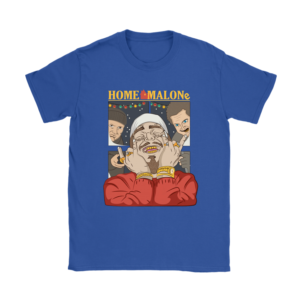 Home Malone Home Alone By Post Malone Christmas Shirts