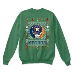 Houston Astros x Grateful Dead Christmas Ugly Sweater 8