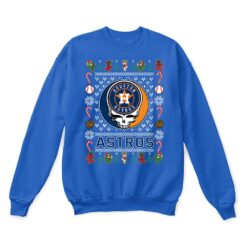Houston Astros x Grateful Dead Christmas Ugly Sweater 12