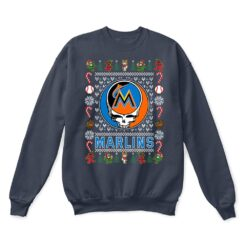 Miami Marlins x Grateful Dead Christmas Ugly Sweater 9