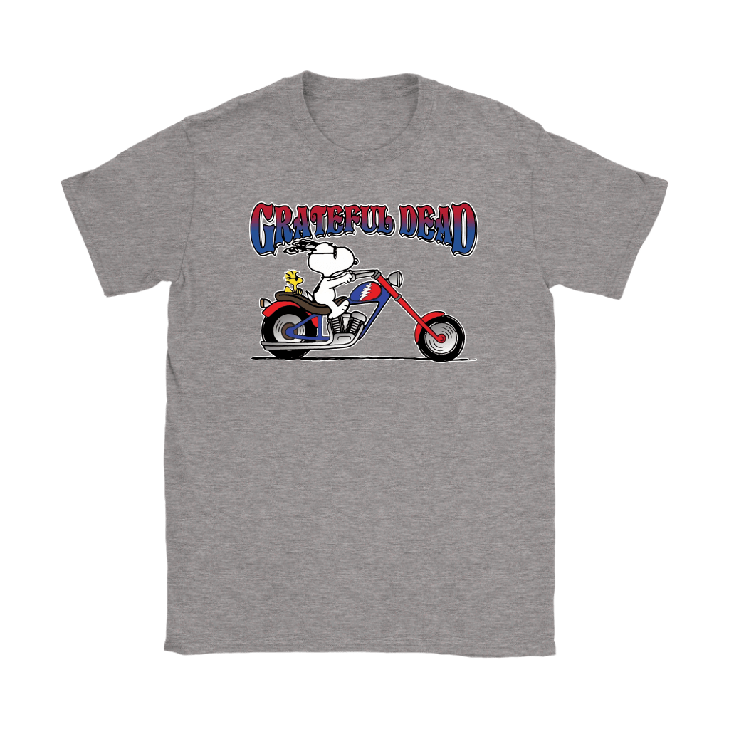 Snoopy Grateful Dead At Least I'm Enjoying The Ride Shirts 13
