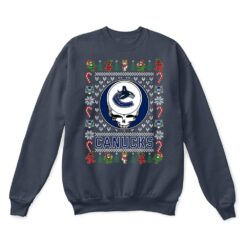 Vancouver Canucks x Grateful Dead Christmas Ugly Sweater 9