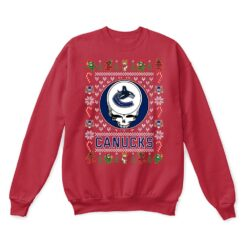 Vancouver Canucks x Grateful Dead Christmas Ugly Sweater 11