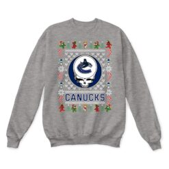Vancouver Canucks x Grateful Dead Christmas Ugly Sweater 13