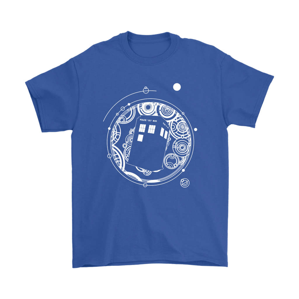Police Box Tardis Through Space And Time Doctor Who Shirts 5
