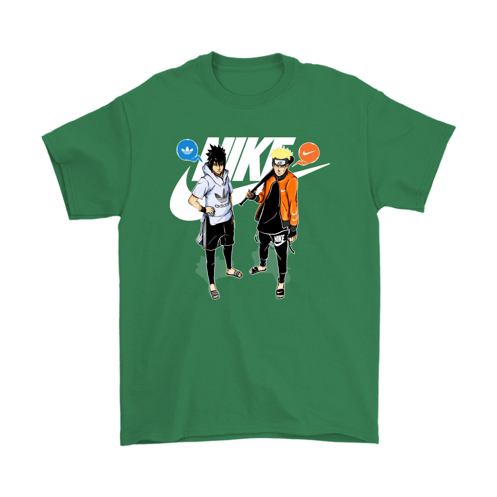 Adidas Sasuke And Nike Naruto Friends Or Enemies Shirts 7