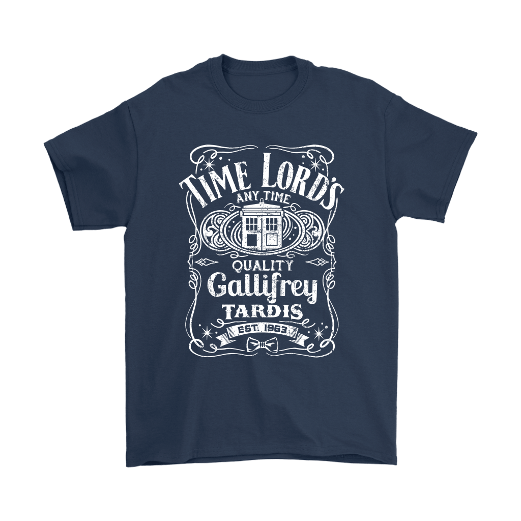 Time Lord's Any Time Quality Gallifrey Tardis Est. 1963 Shirts 3