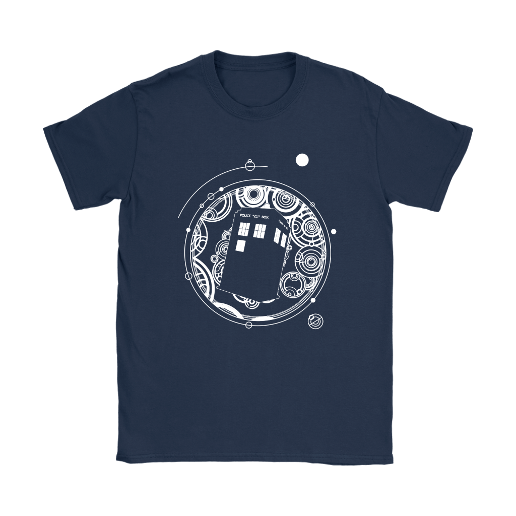 Police Box Tardis Through Space And Time Doctor Who Shirts 8