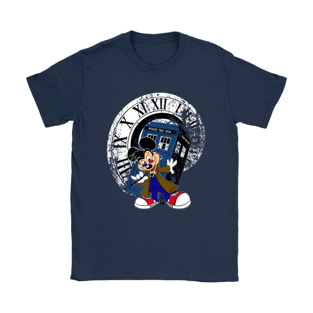 Doctor Who Disney Mickey Mouse Crossover Shirts 7