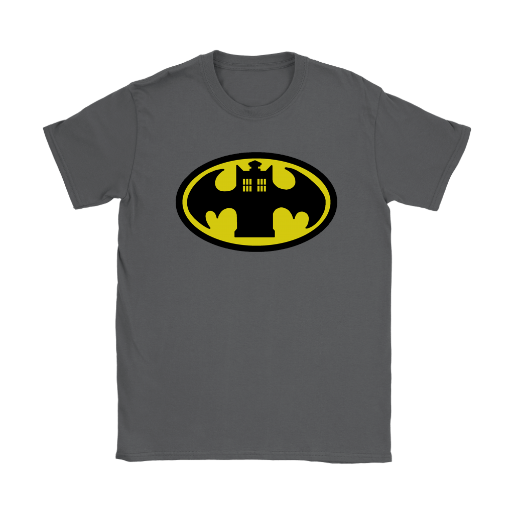 Doctor Who Tardis And Batman Logo Mashup Shirts 8