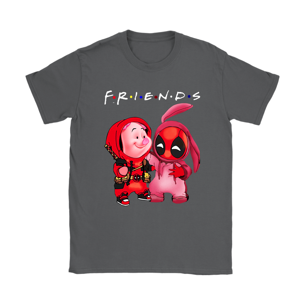 Piglet And Deadpool Costumes Exchange FRIENDS Shirts 8