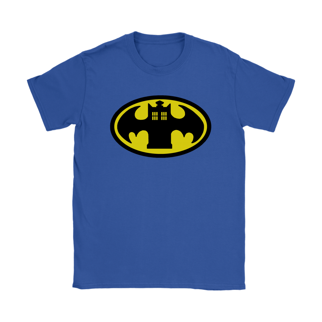 Doctor Who Tardis And Batman Logo Mashup Shirts 12