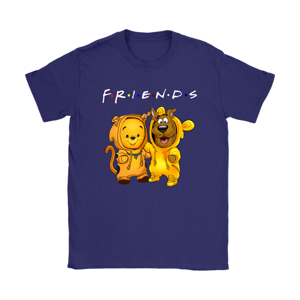 Winnie The Pooh And Scooby Doo Costumes Exchange FRIENDS shirts 9