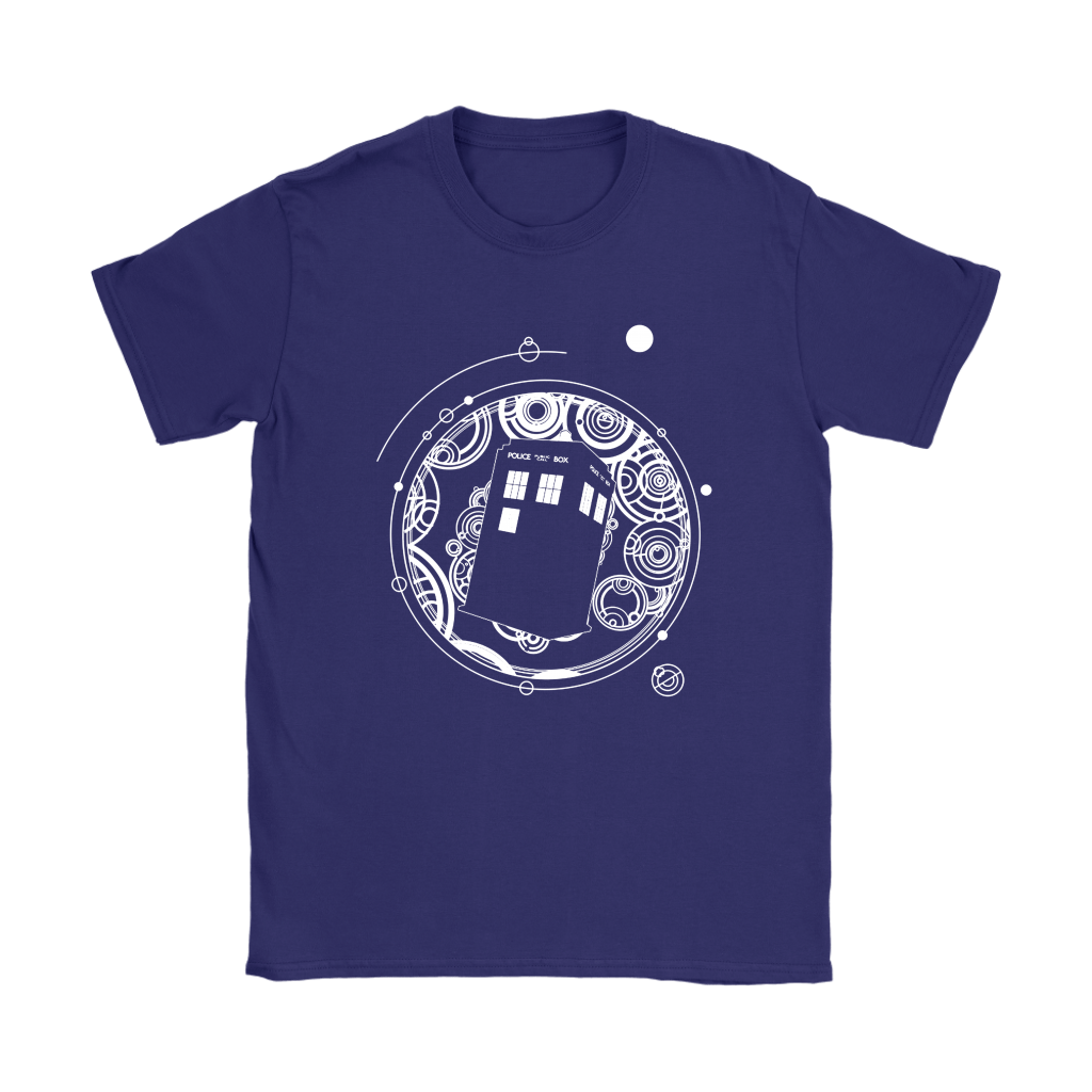 Police Box Tardis Through Space And Time Doctor Who Shirts 9