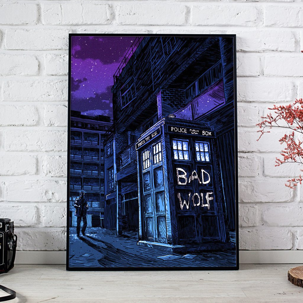 Doctor Who Dark Alley Bad Wolf Episode Posters 1
