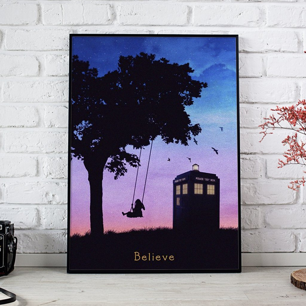 Doctor Who I Want To Believe Posters 1