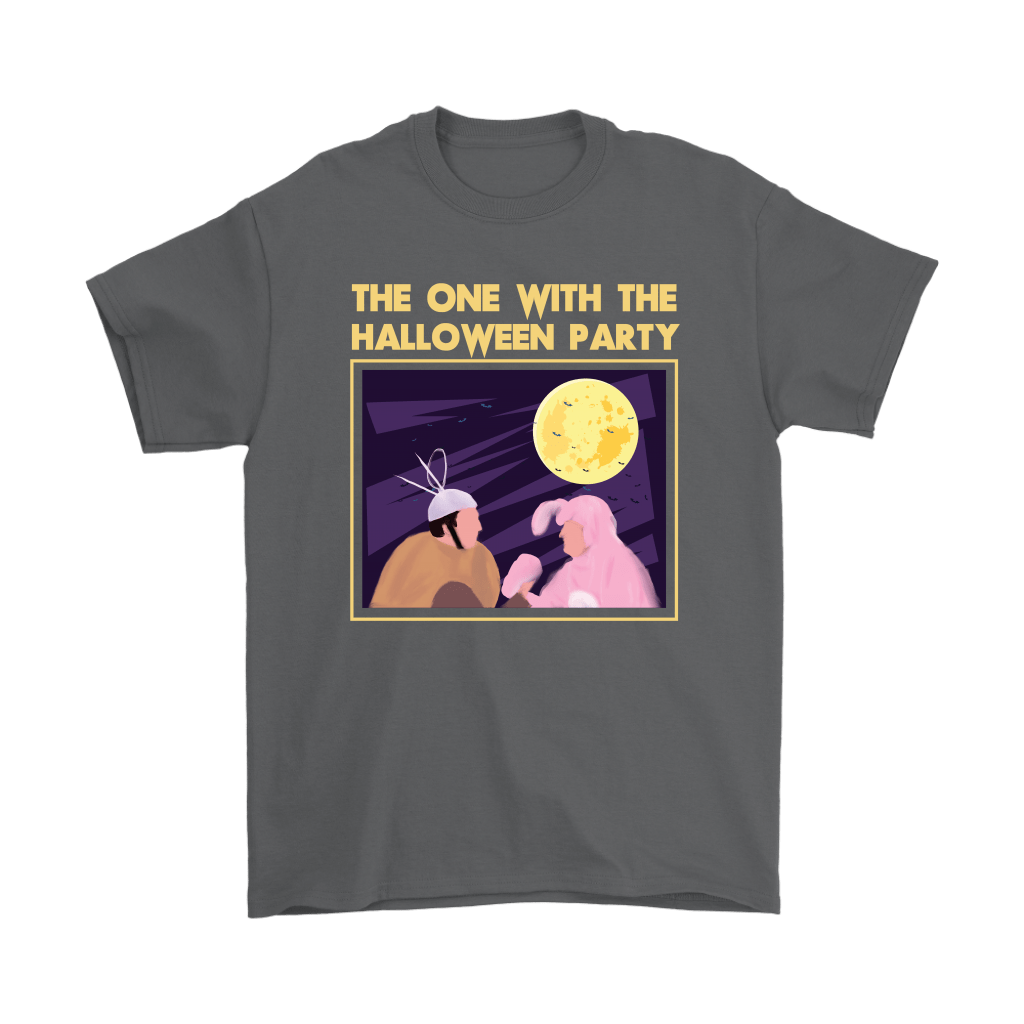 Ross And Chandler The One With The Halloween Party FRIENDS Shirts 2