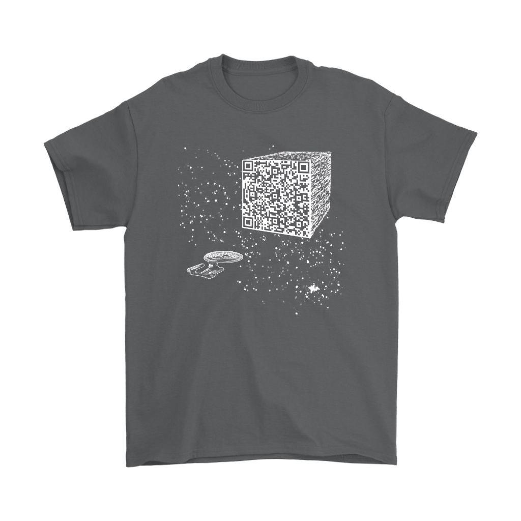 Star Trek We Are The Borg Resistance Is Futile Barcode Shirts 2
