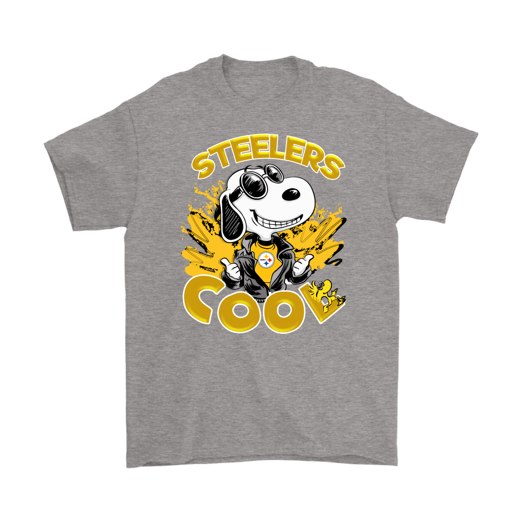 Pittsburgh Steelers Snoopy Joe Cool We're Awesome Shirts 7