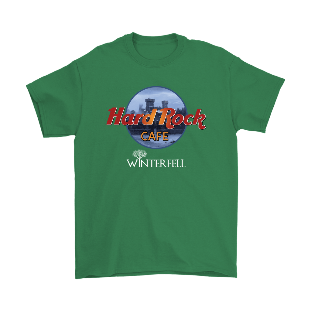 Hard Rock Cafe Winterfell Game Of Thrones Shirts 7