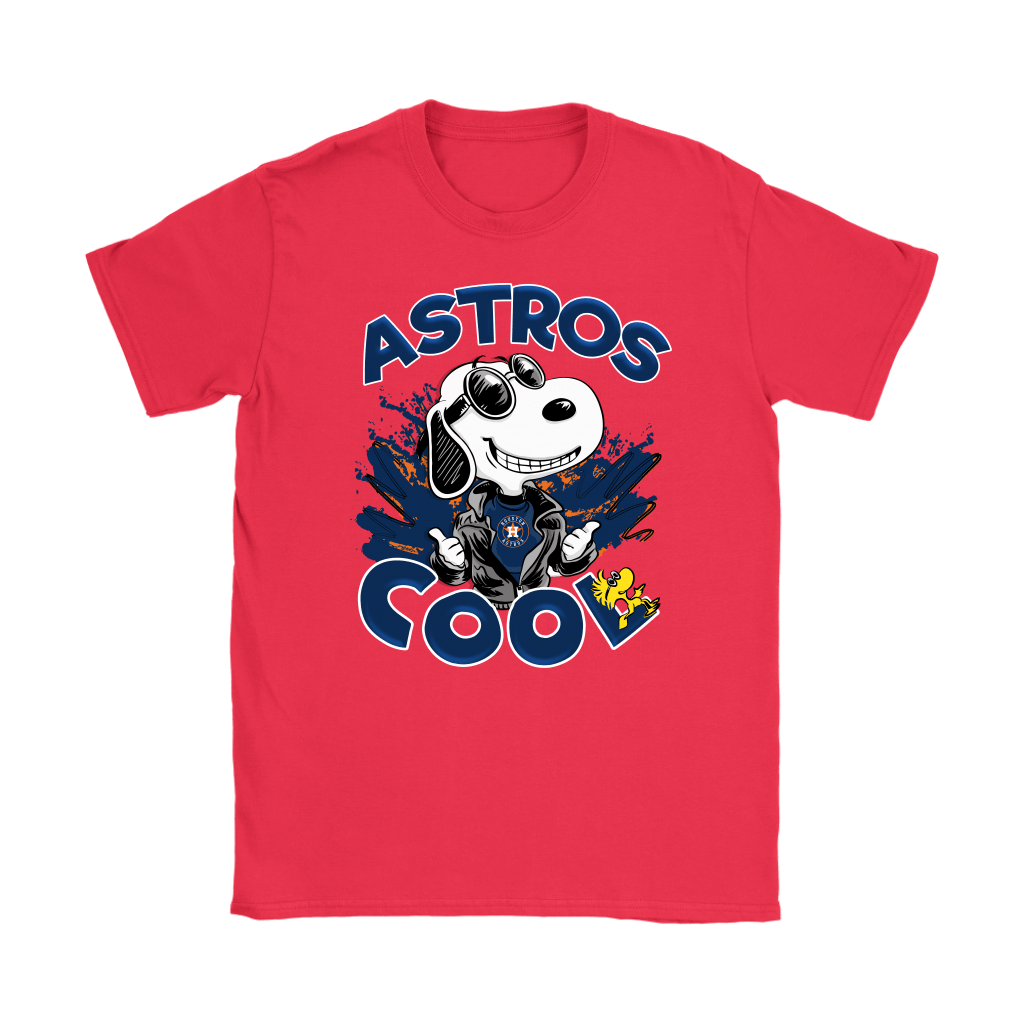 Houston Astros Snoopy Joe Cool We're Awesome Shirts 12