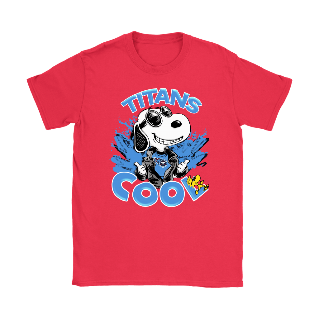 Tennessee Titans Snoopy Joe Cool We're Awesome Shirts 12