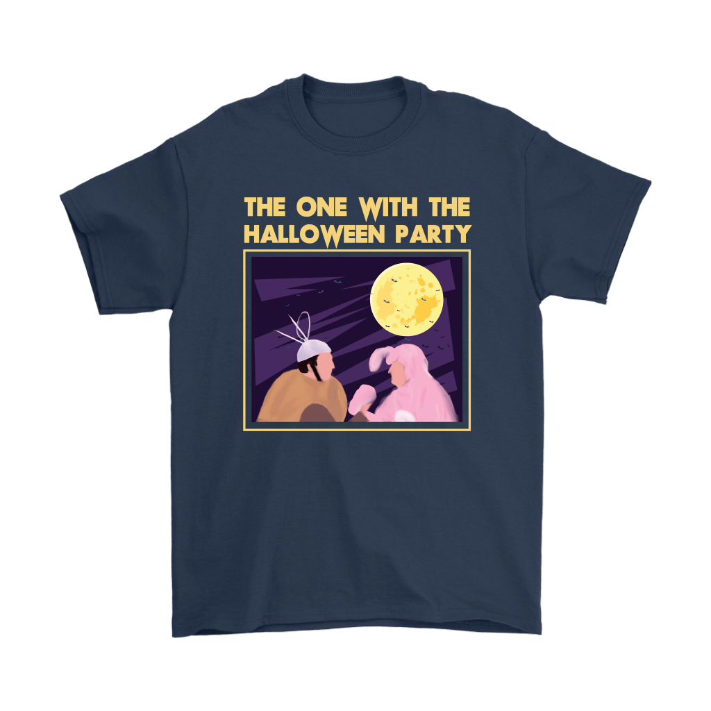 Ross And Chandler The One With The Halloween Party FRIENDS Shirts 3