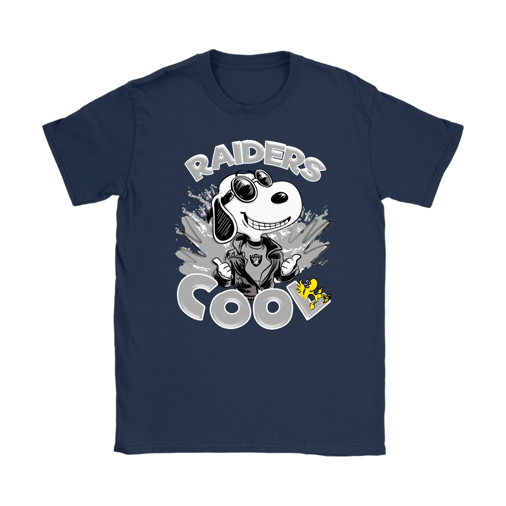 Oakland Raiders Snoopy Joe Cool We're Awesome Shirts 10
