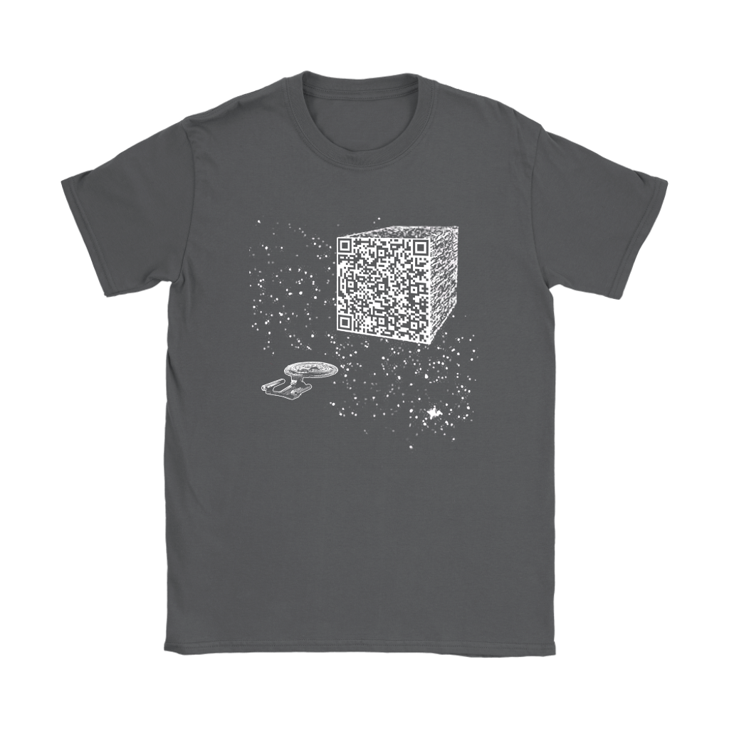Star Trek We Are The Borg Resistance Is Futile Barcode Shirts 6