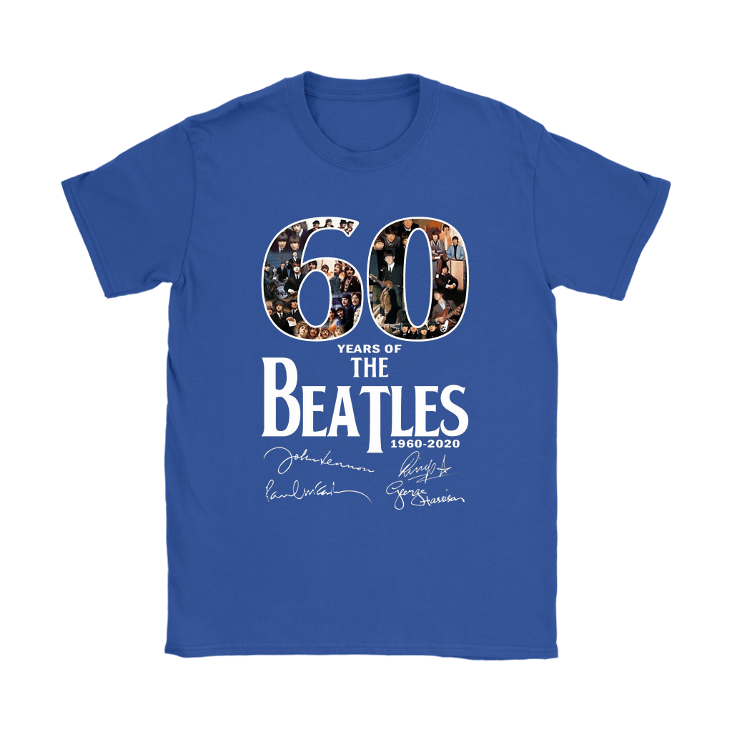 60 Years Of The Beatles 1960-2020 Signatures Shirts 11