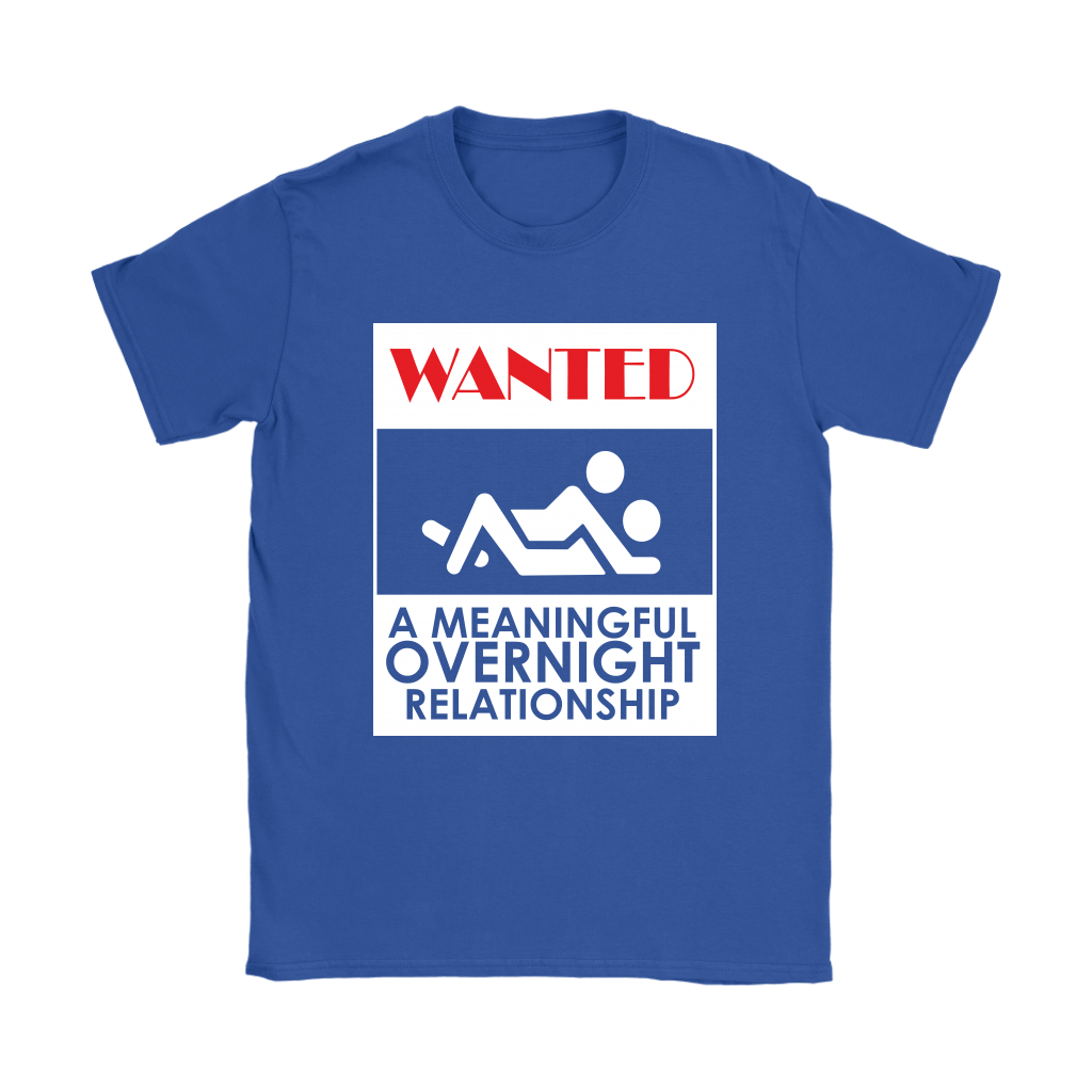 WANTED A Meaningful Overnight Relationship Stick Figure Shirts 11