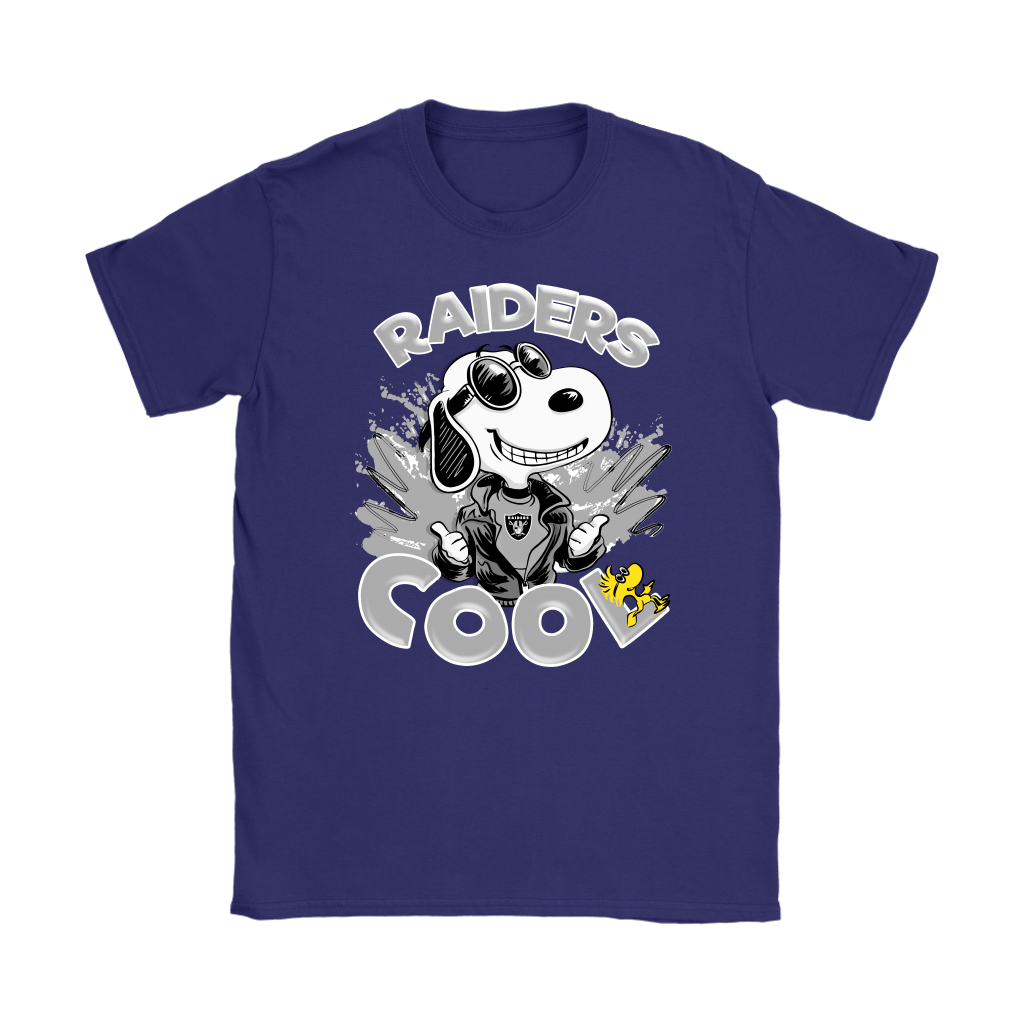 Oakland Raiders Snoopy Joe Cool We're Awesome Shirts 11