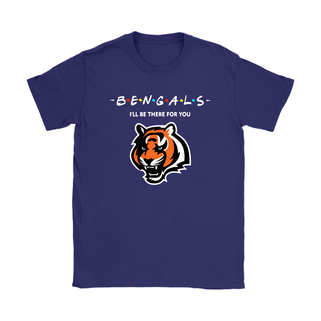 I'll Be There For You Cincinnati Bengals FRIENDS Movie NFL Shirts 11