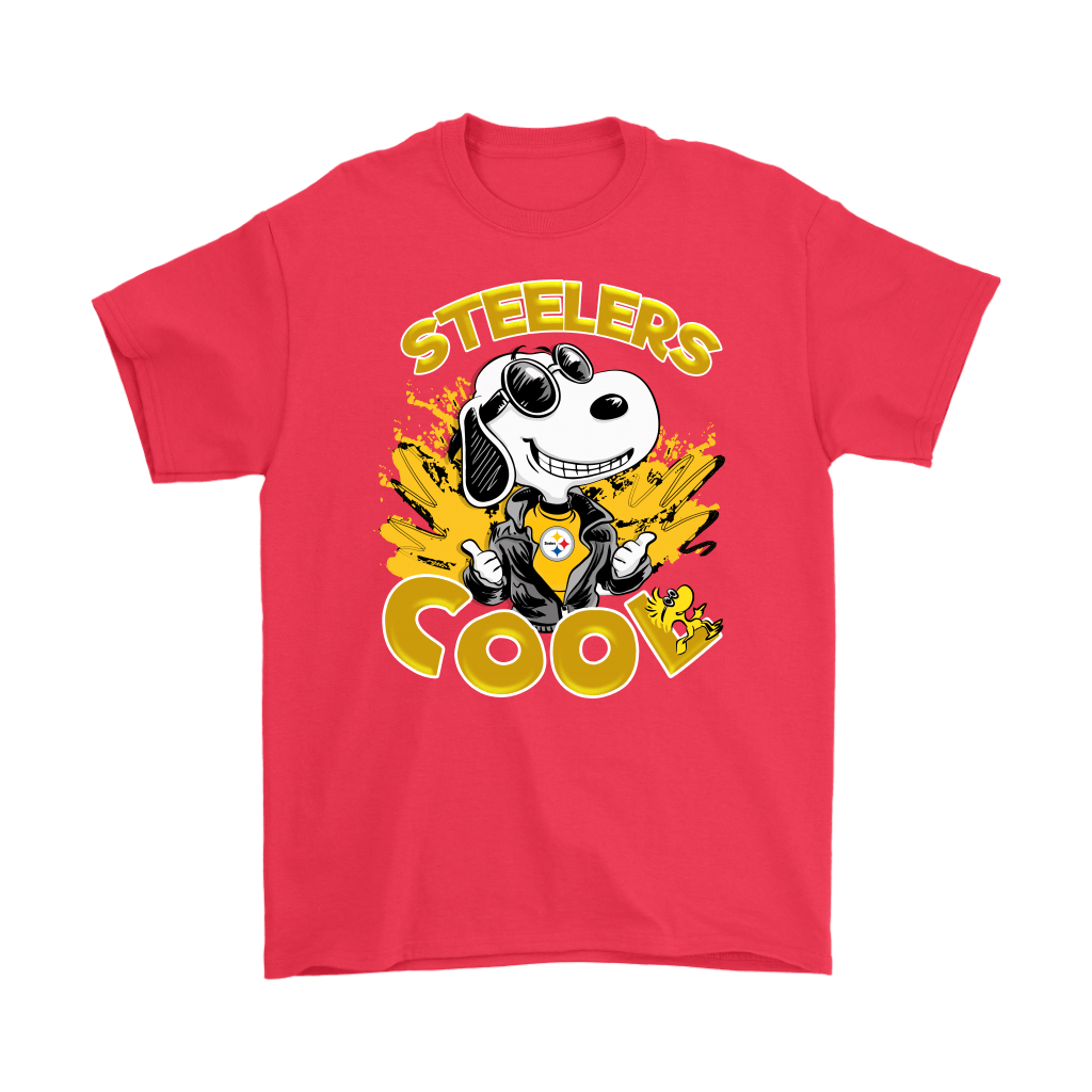 Pittsburgh Steelers Snoopy Joe Cool We're Awesome Shirts 5