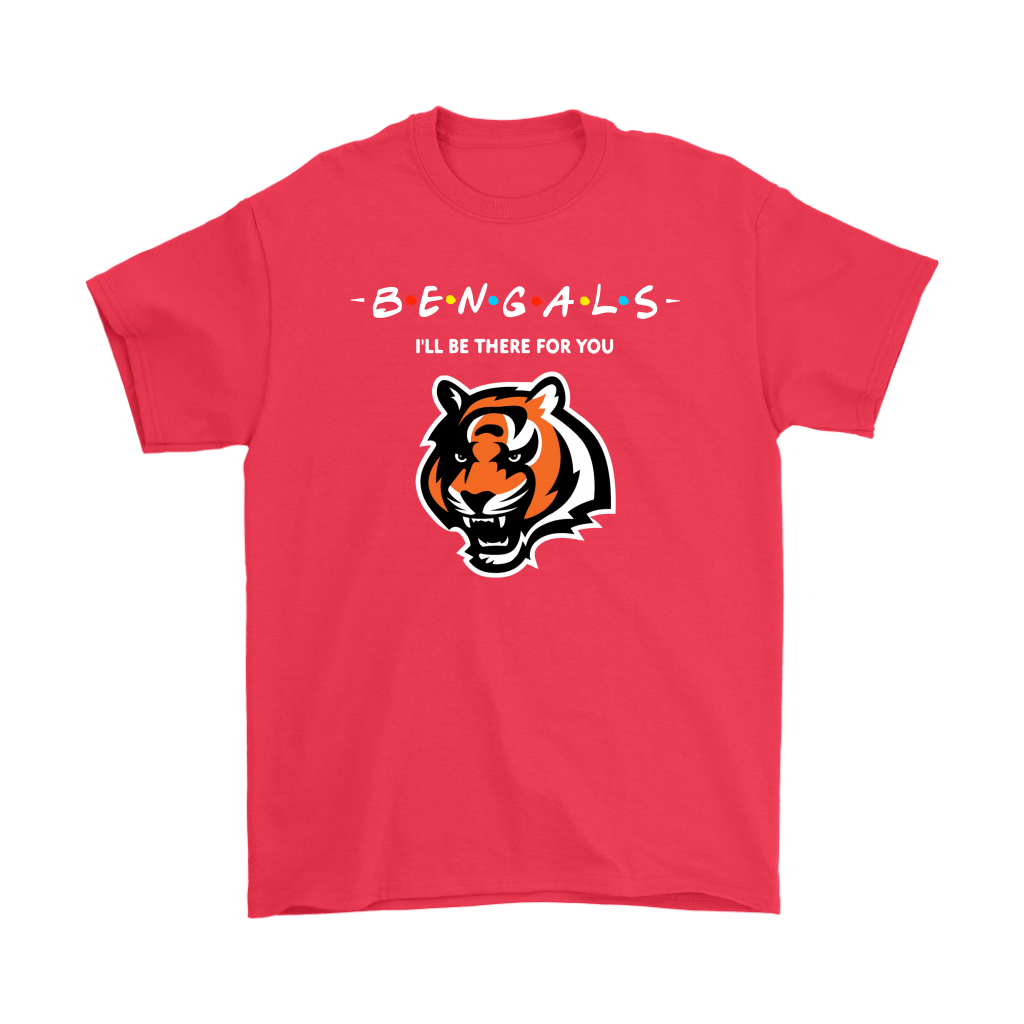 I'll Be There For You Cincinnati Bengals FRIENDS Movie NFL Shirts 5