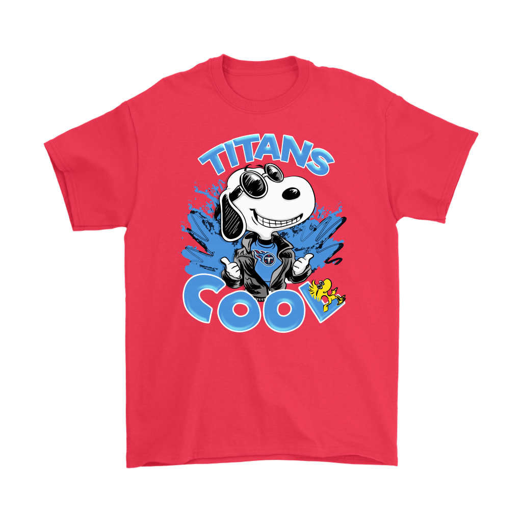 Tennessee Titans Snoopy Joe Cool We're Awesome Shirts 5